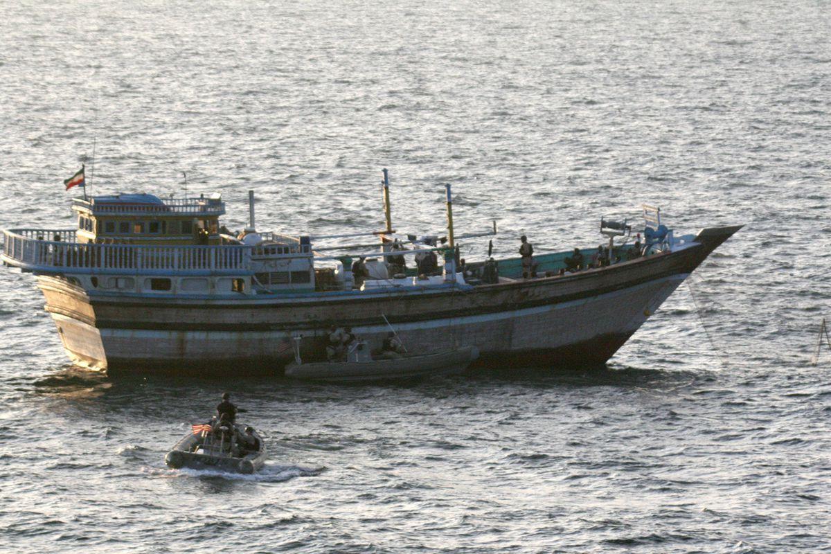 Maritime pirates (US Navy)
