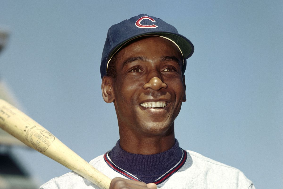 Ernie Banks' smile lit up Wrigley Field for his entire career