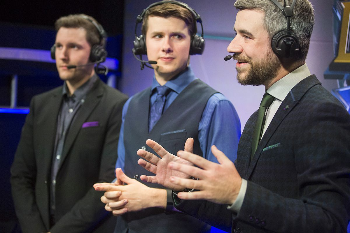 here s the on air team for 2016 worlds the rift herald