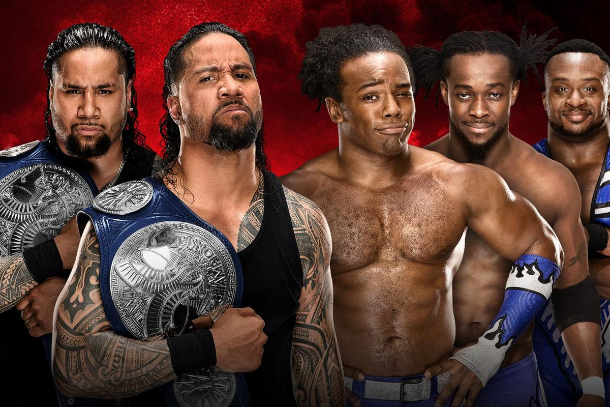 Image result for the usos vs the new day