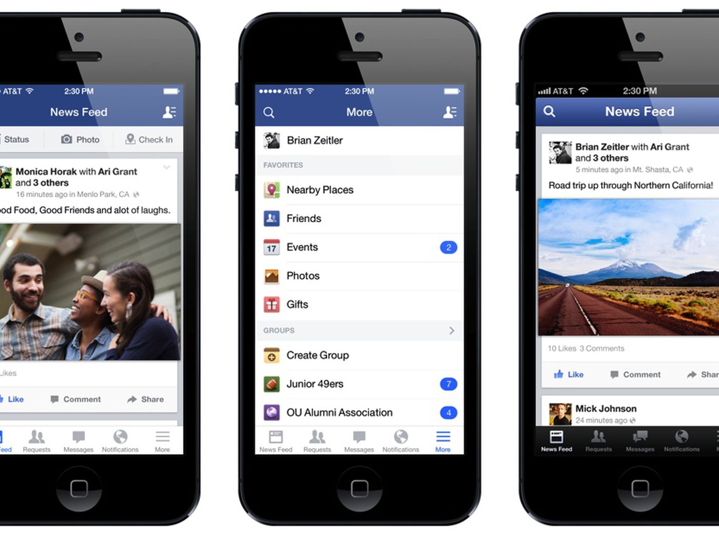 How Facebook secretly redesigned its iPhone app with your help - The