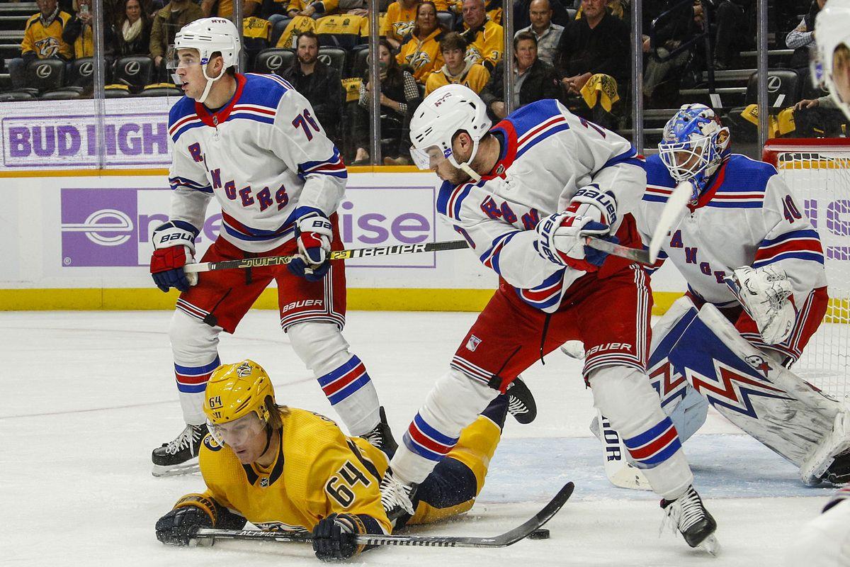 New York Rangers v Nashville Predators