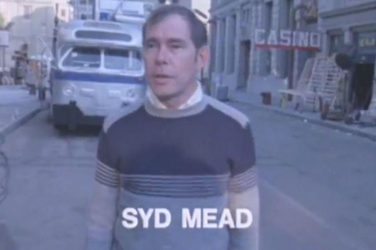 Syd Mead Blade Runner promo reel