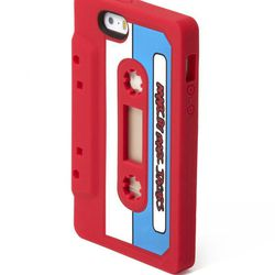 <b>Marc by Marc Jacobs iPhone Case</b><br> There's only one thing cooler than brand new: Retro. This <b>Marc by Marc Jacobs</b> iPhone case is literal perfection in rubber cassette tape form. If your guy has an iPhone, this bright case is the best way to