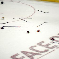 Equipment on the Ice
