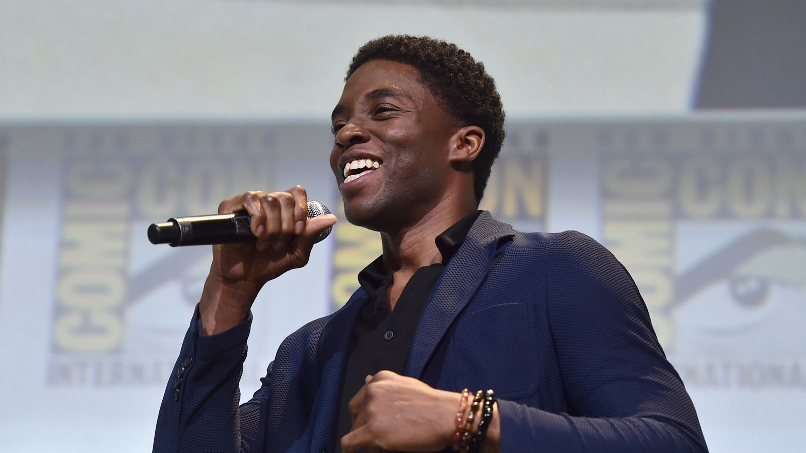 Black Panther gets a standing ovation in Hall H