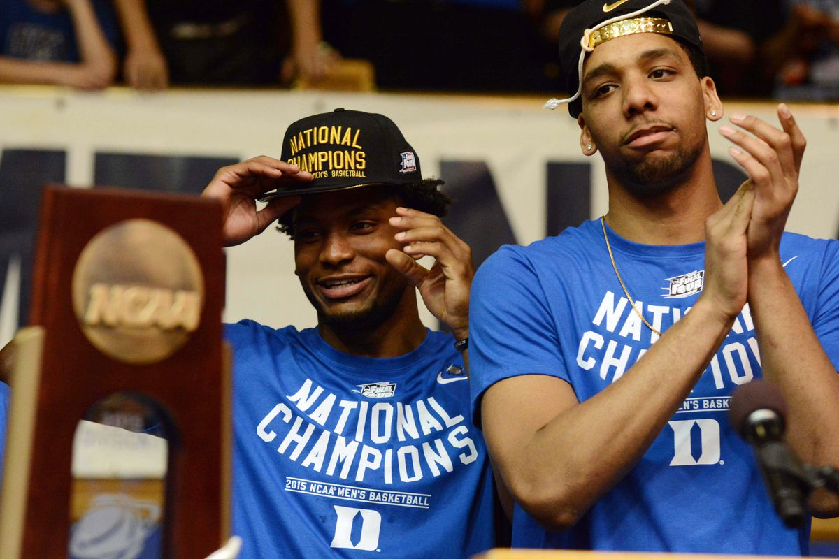 Justise Winslow and Jahlil Okafor will be teammates again over the summer.