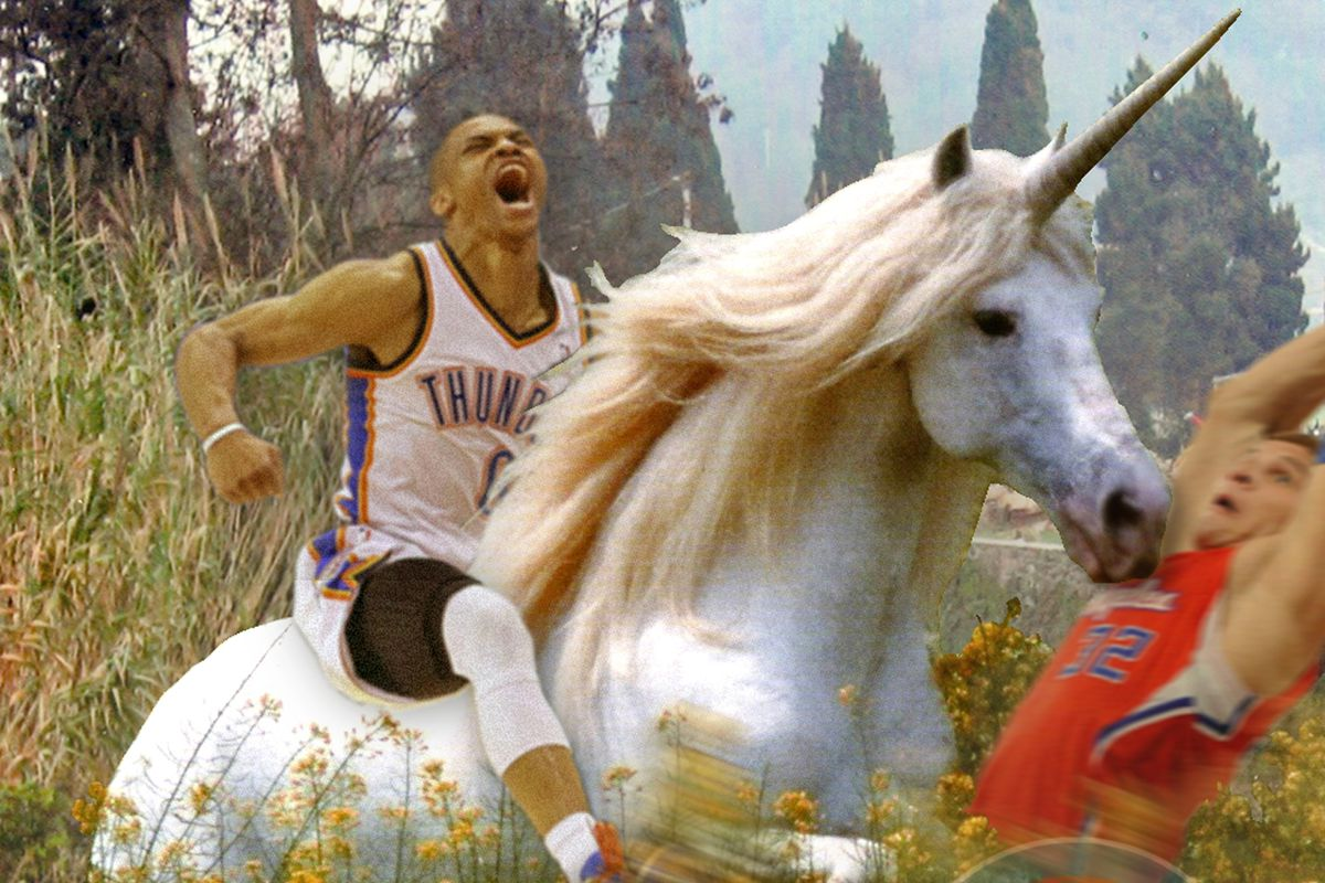 Griffin's flops are useless against unicorns!