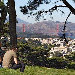 """Hidden dead center in the city, <b>Buena Vista Park</b> lives up to its name, rewarding hikers with panoramic views of San Francisco after each steep incline. (Fun fact: It's also the <a href=""""http://sfrecpark.org/destination/buena-vista-park/"""">oldest par"""
