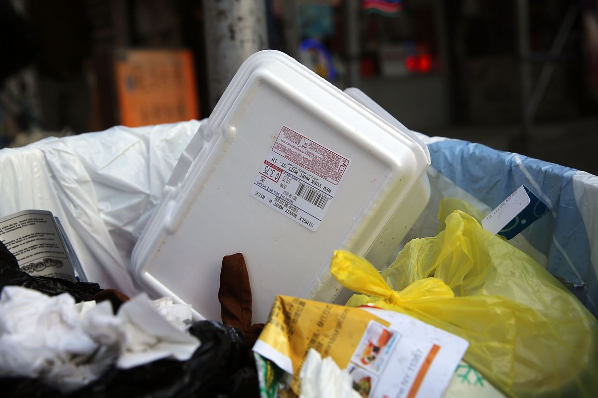 New York City Poised To Ban Styrofoam Food Containers