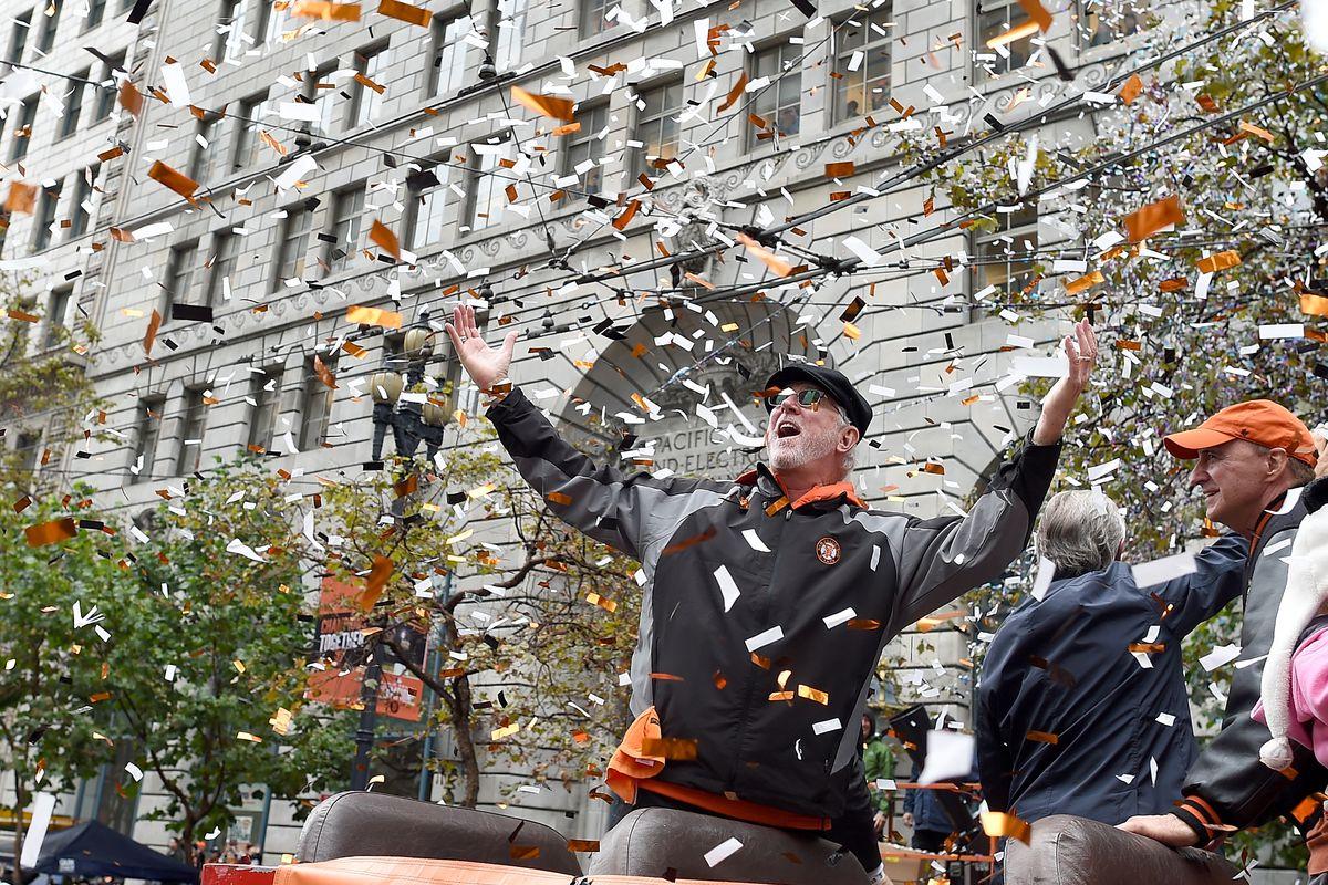 San Francisco Giants Victory Parade and Civic Celebration