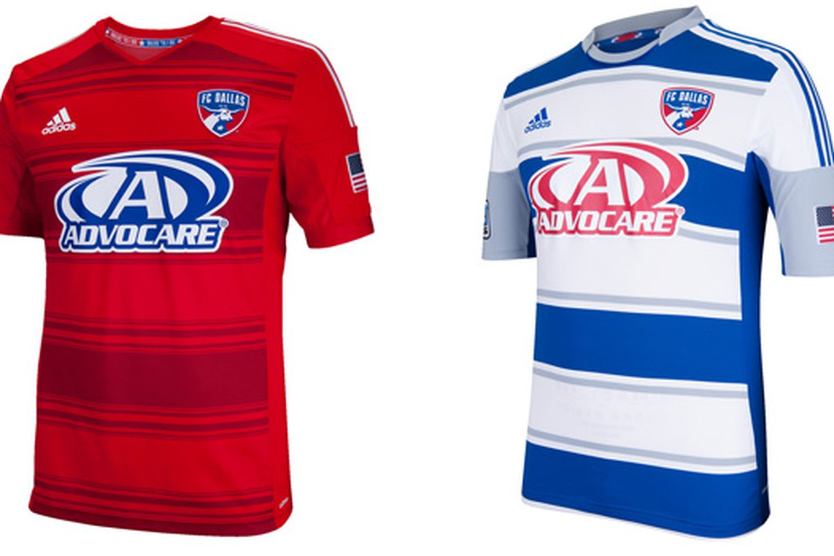 purchase cheap 851d2 a5071 FC Dallas Unveils New Home Jersey - Big D Soccer