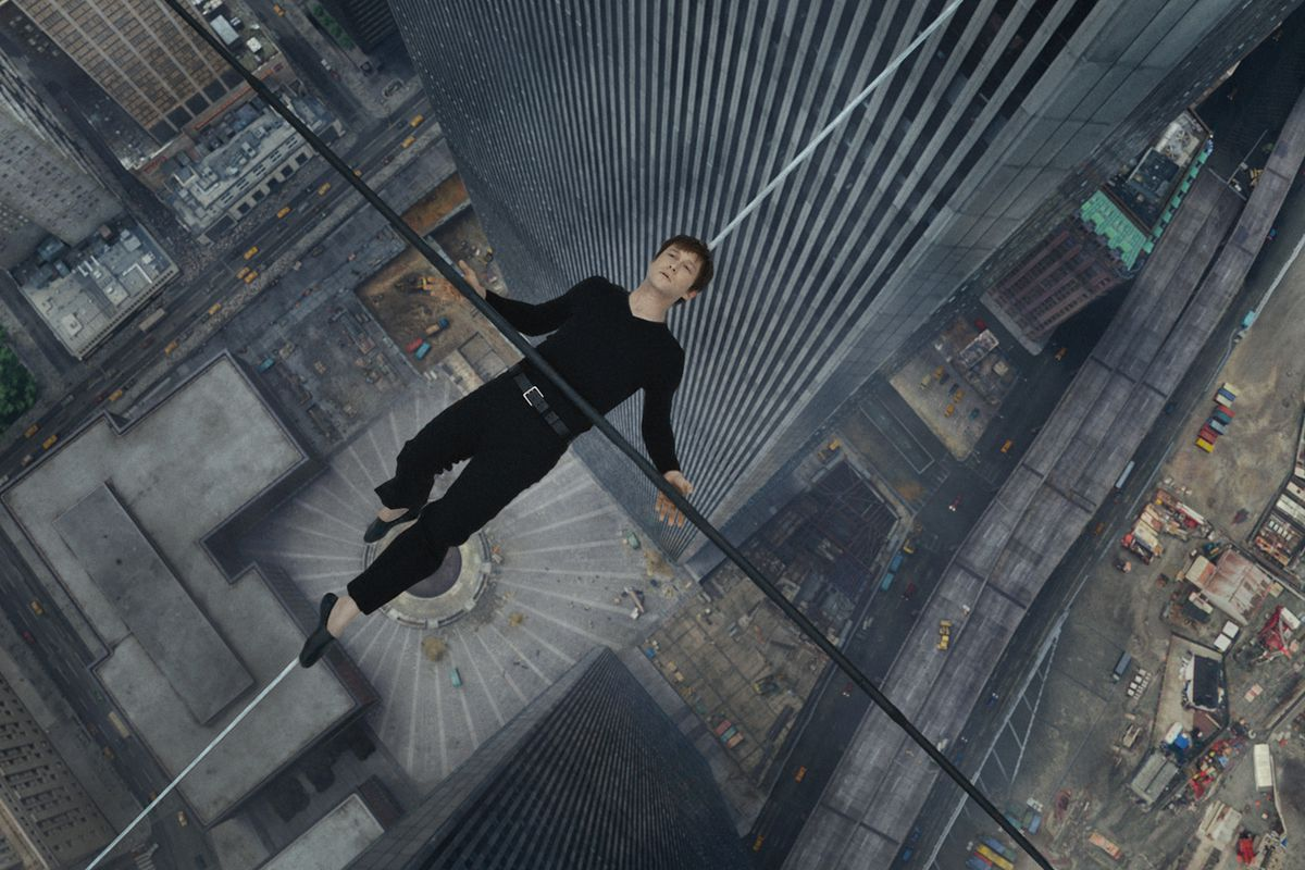 """""""Sure. I'll just lie down on this high wire between the Twin Towers. Not like I had anything else to do today!"""""""