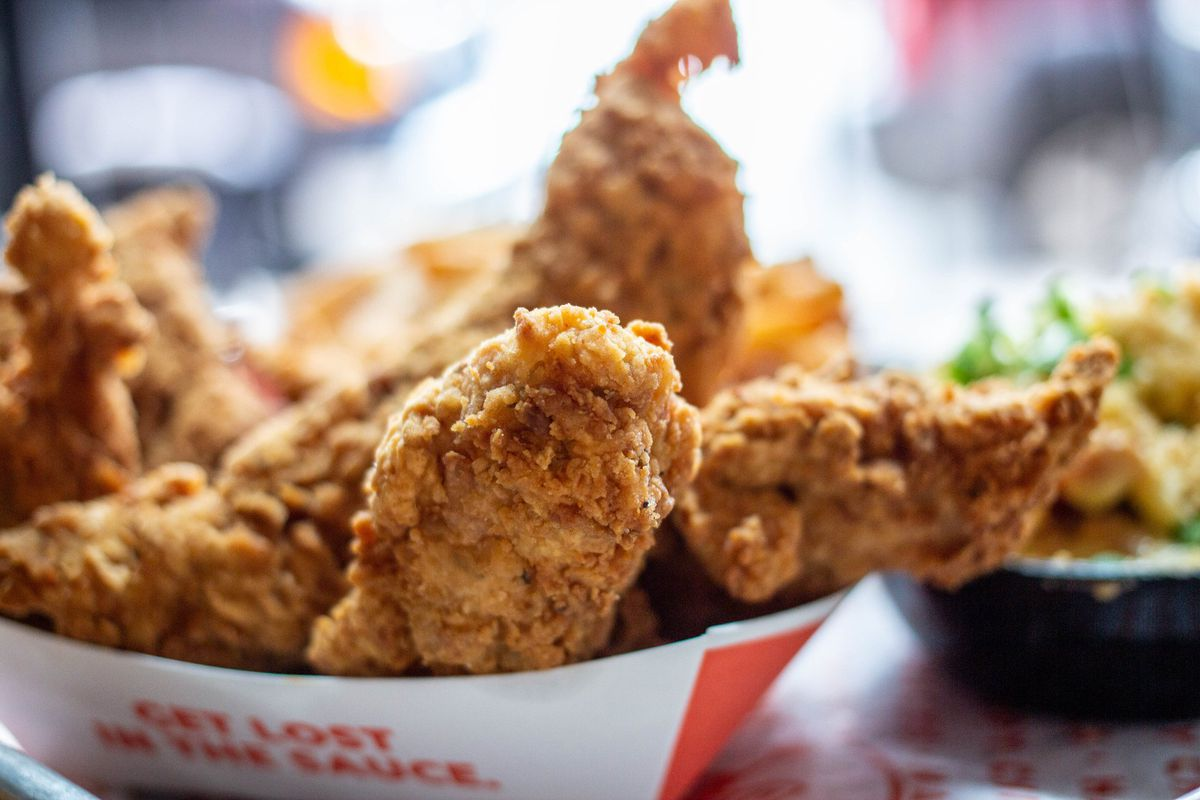 Chicken tenders from Happy Chicks
