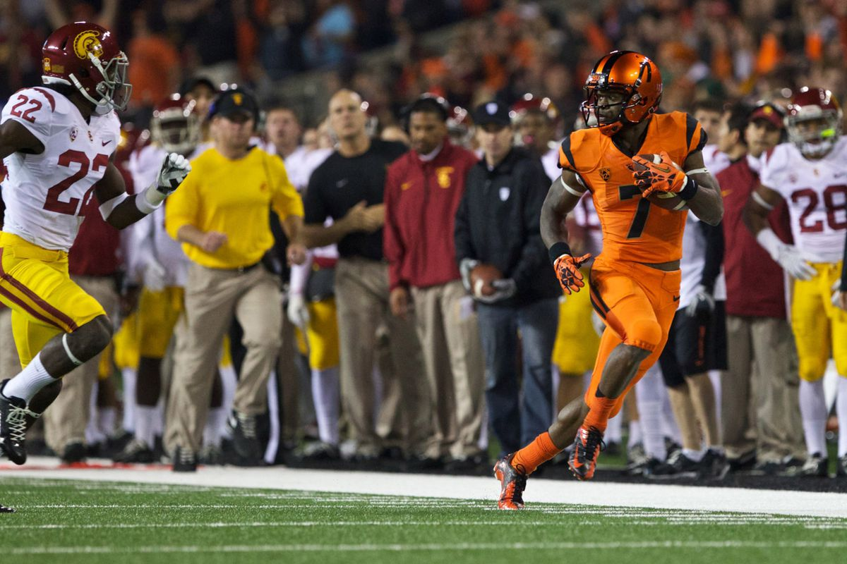 Brandin Cooks will try and give Oregon State fans a Christmas Eve present.