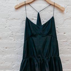 "<b>Morgan Carper</b> <a href=""http://www.spiritualameri.ca/new-arrivals/spirit-dress.html"">Spirit</a> dress, $298"