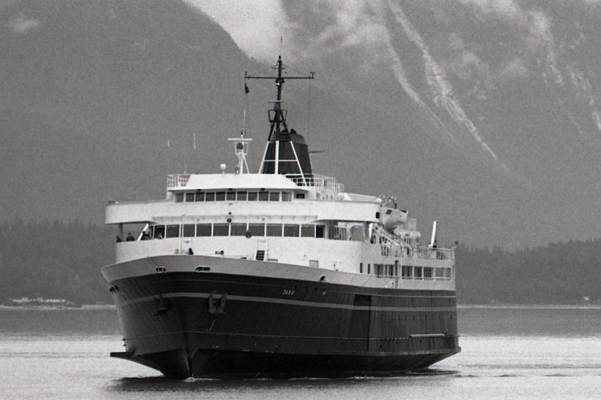 Alaskan ferry Taku
