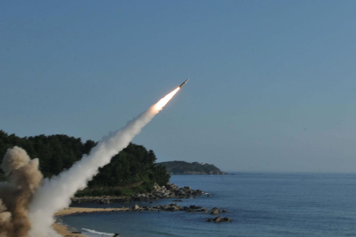 U.S. And South Korean Military Launch Missile Ballistic Exercise
