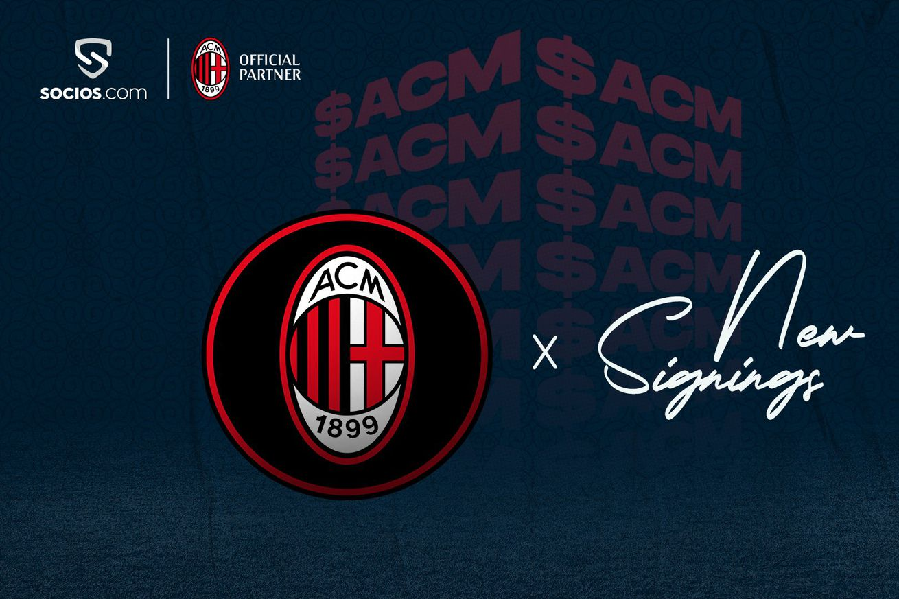 Socios.com Give New AC Milan Signings $ACM Fan Tokens