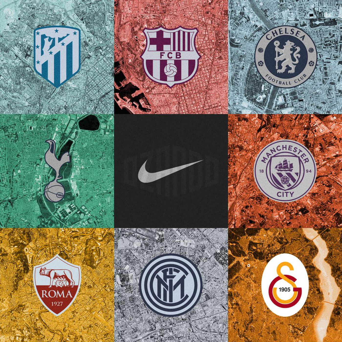newest collection 6599f 8fc07 Even Tottenham's 2018-19 third kits are freakin' Nike ...