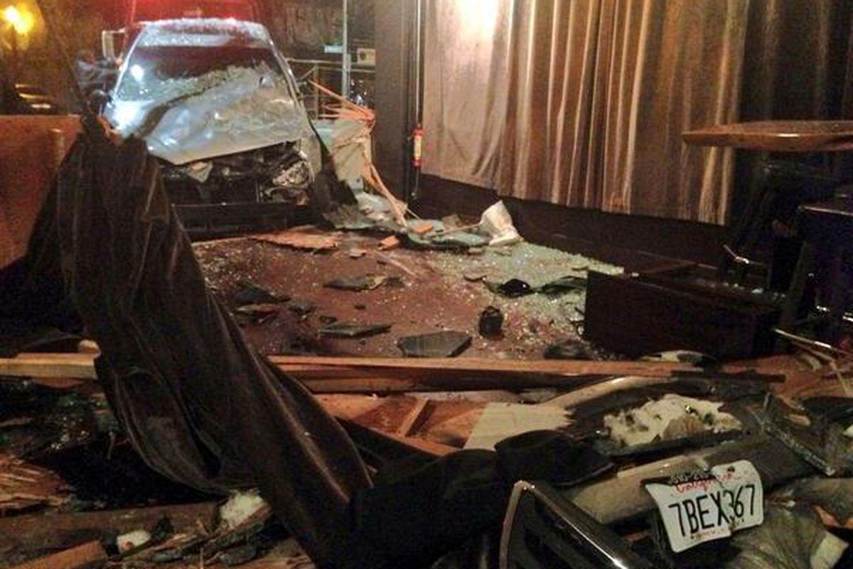 The carnage at Bar Dogwood.