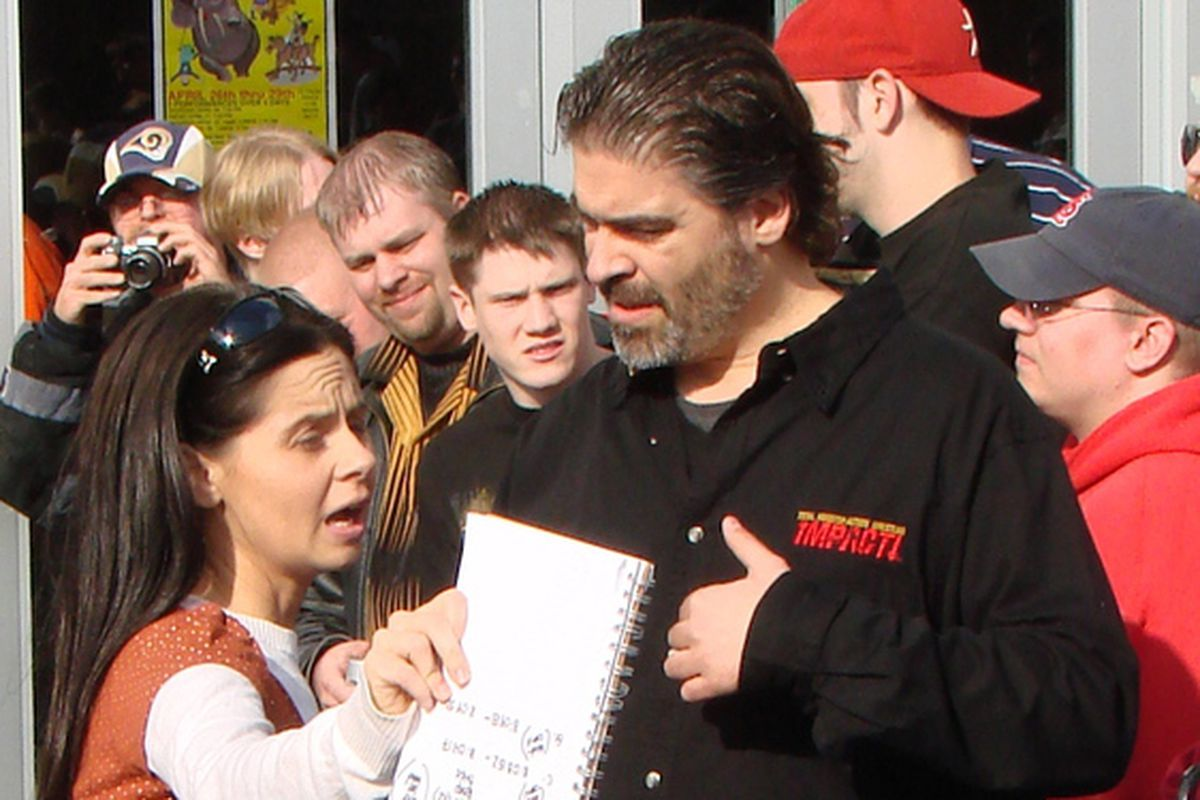 TNA's addiction with Vince Russo gets harder and harder to explain