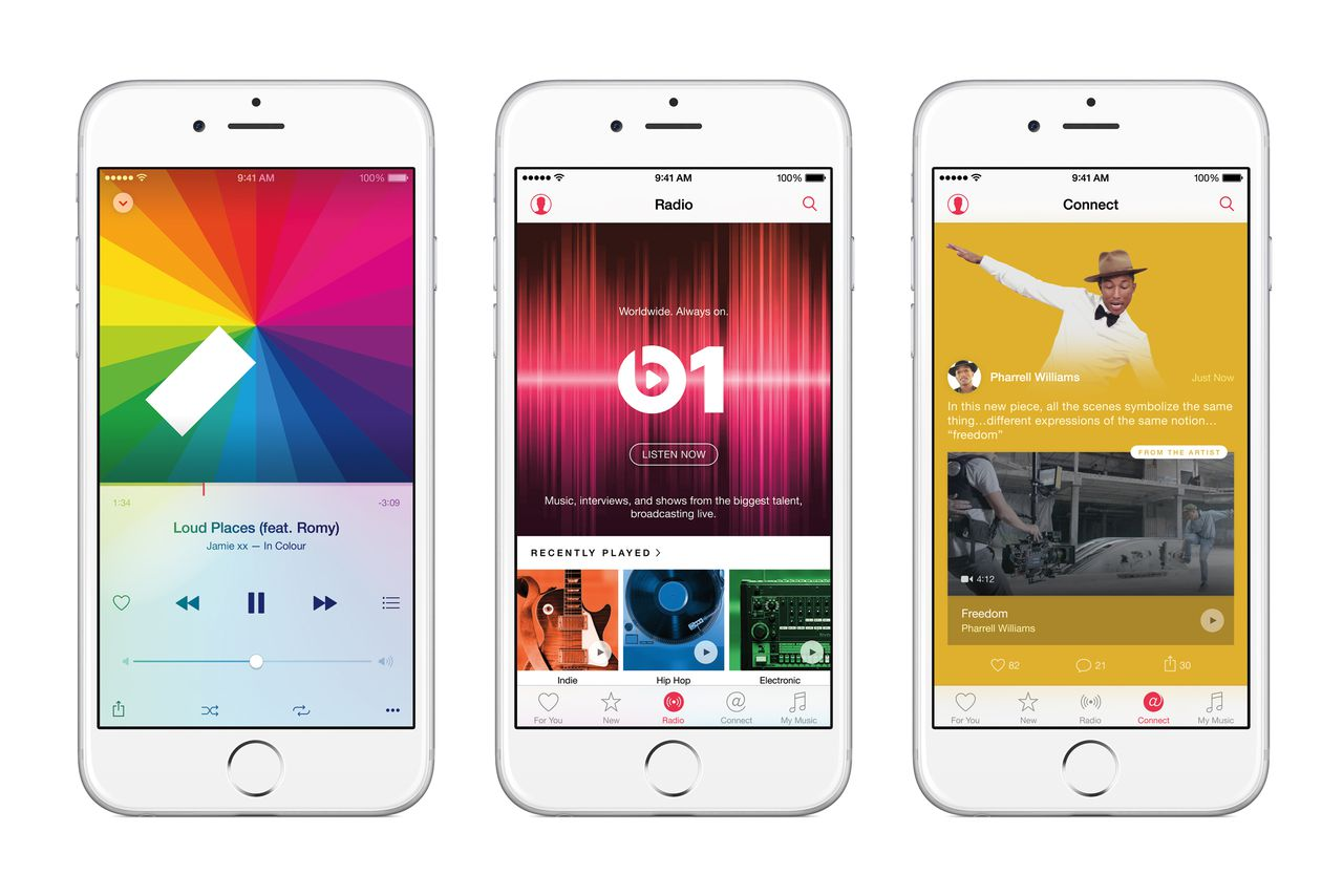 Here's how Apple Music compares to Spotify, Tidal, and other