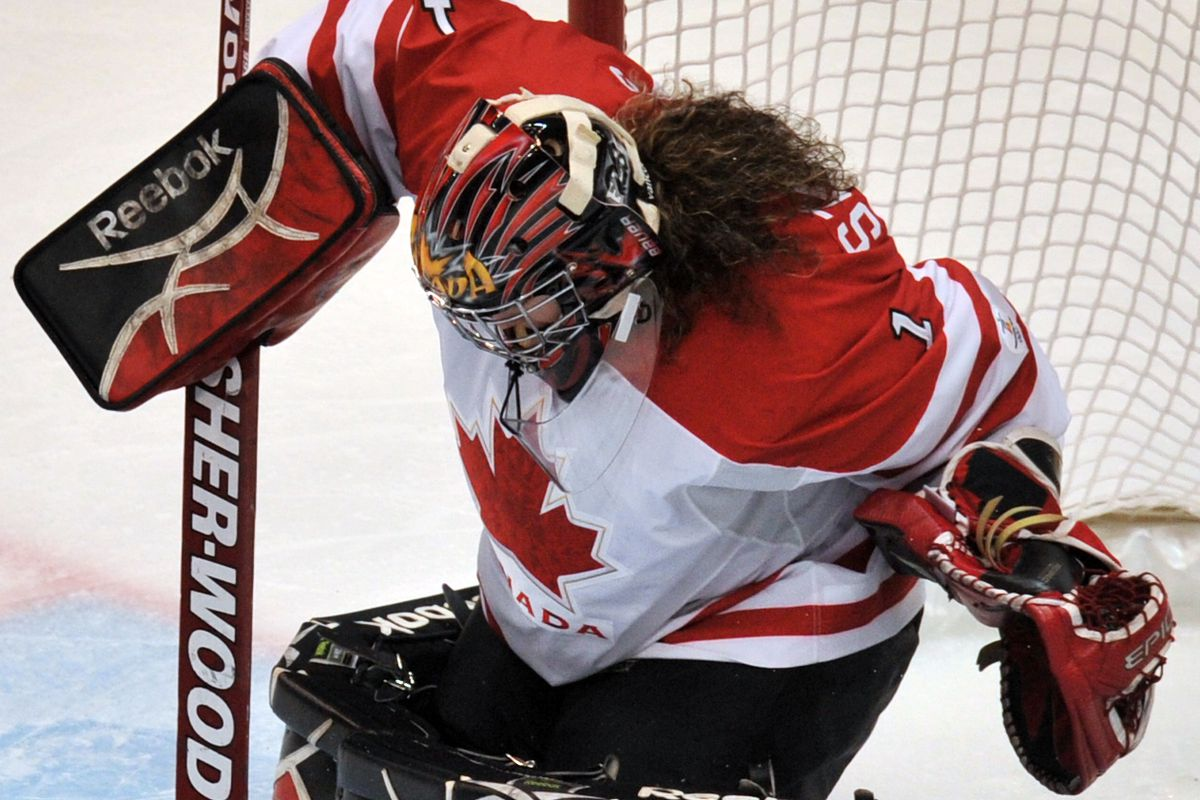 Canadian goalkeeper Shannon Szabados (1)