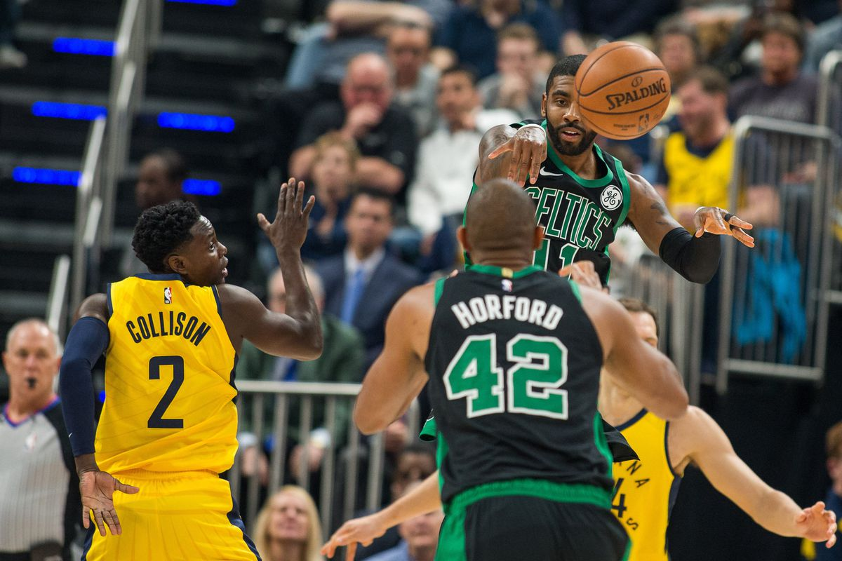 b650da57e25c Kyrie Irving and Al Horford close out Pacers in Game 3 - CelticsBlog