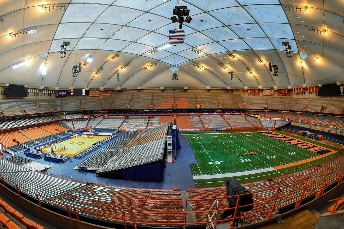 Syracuse S Carrier Dome 48th In Stadium Journey Experience
