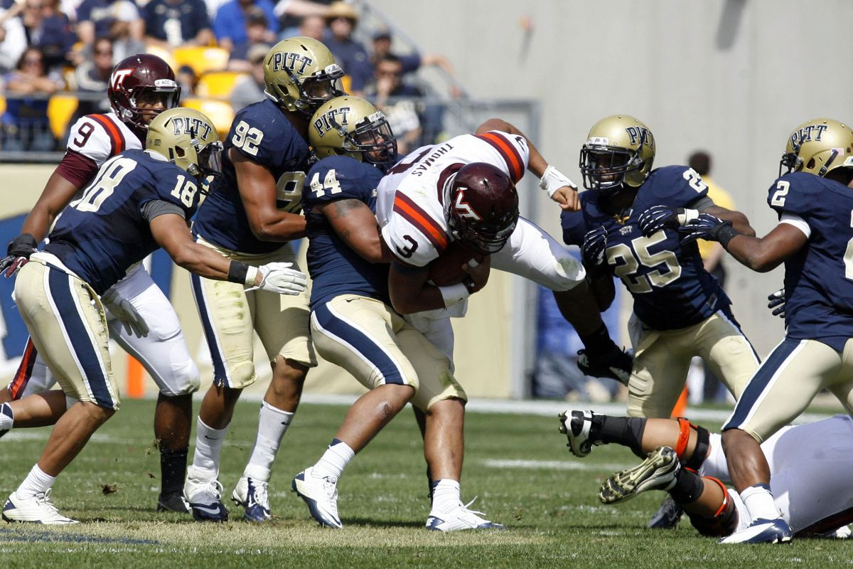 Pitt's win over Virginia Tech knocked the Hokies out of my top 25 (Charles LeClaire-US PRESSWIRE)
