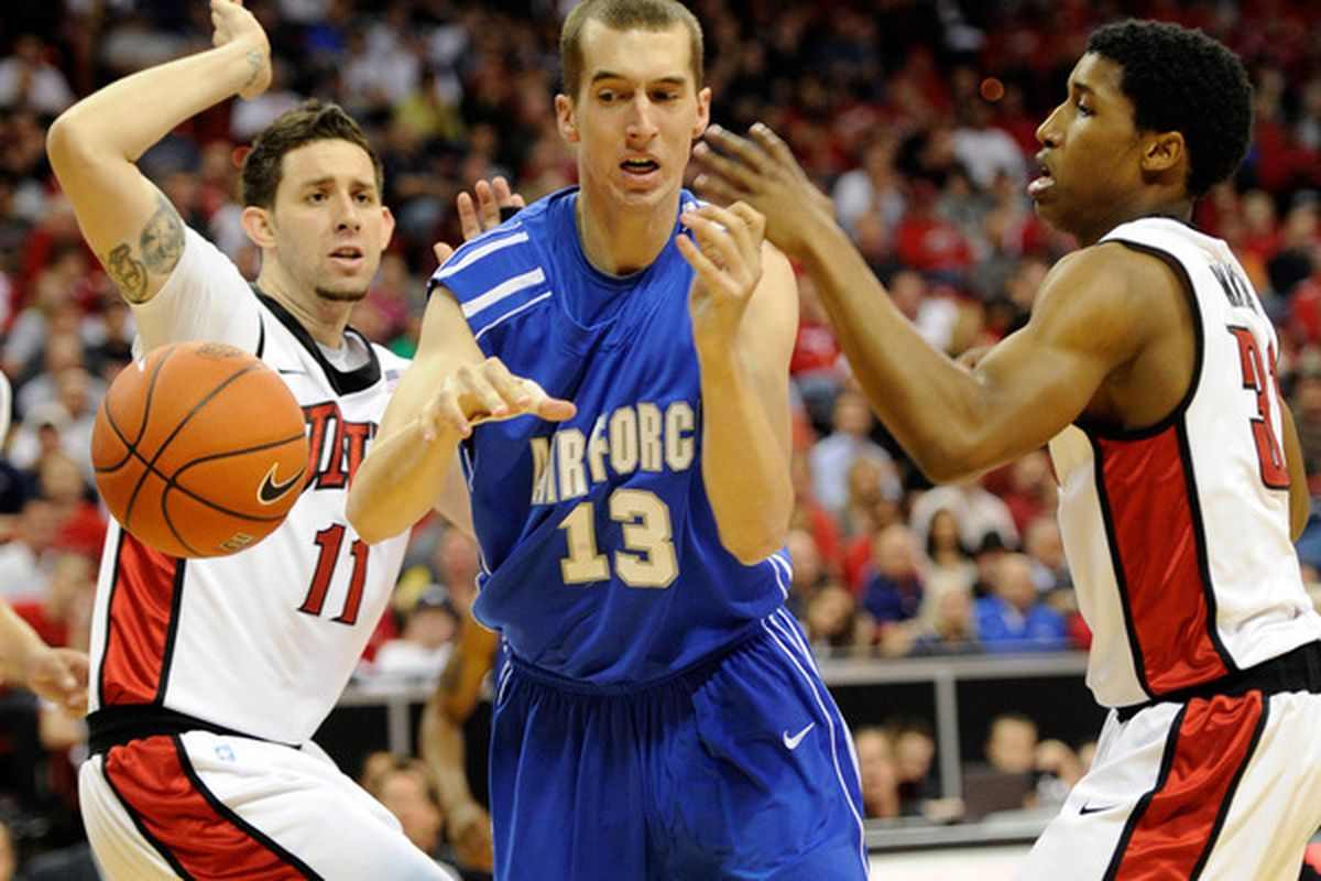Zach Bohannon is transferring to Wisconsin from Air Force; he will have to sit out a year. He is the younger brother of Jason.
