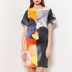 "<b>Vladimir Karaleev</b> Printed Linen Dress in Bouquet, <a href=""http://assemblynewyork.com/new-arrivals/vladimir-karaleev-printed-dress.html"">$374</a> at Assembly New York"