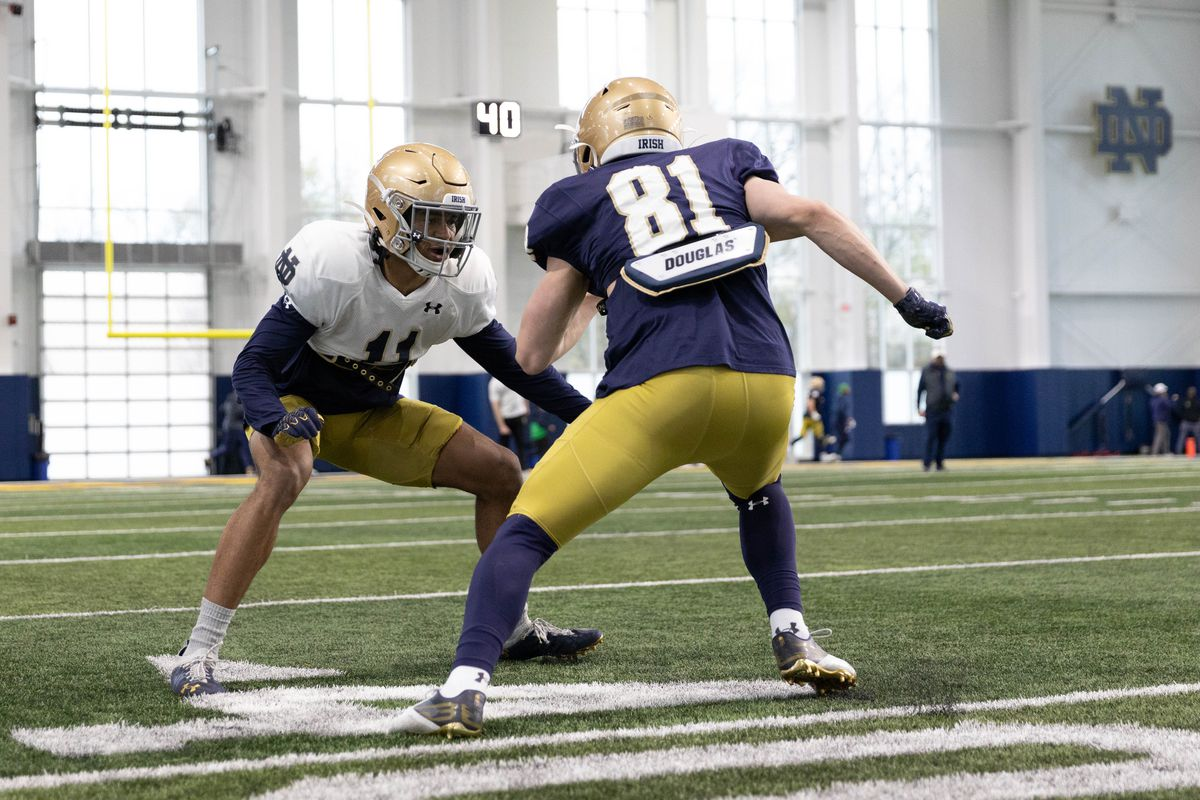 jay brunelle and ramon henderson Notre Dame Football