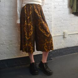 You can also pick up breezy paisley printed culottes for $54.