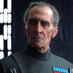 """Although he died in 1994, actor Peter Cushing was digitally resurrected for last year's """"Rogue One: A Star Wars Story."""""""