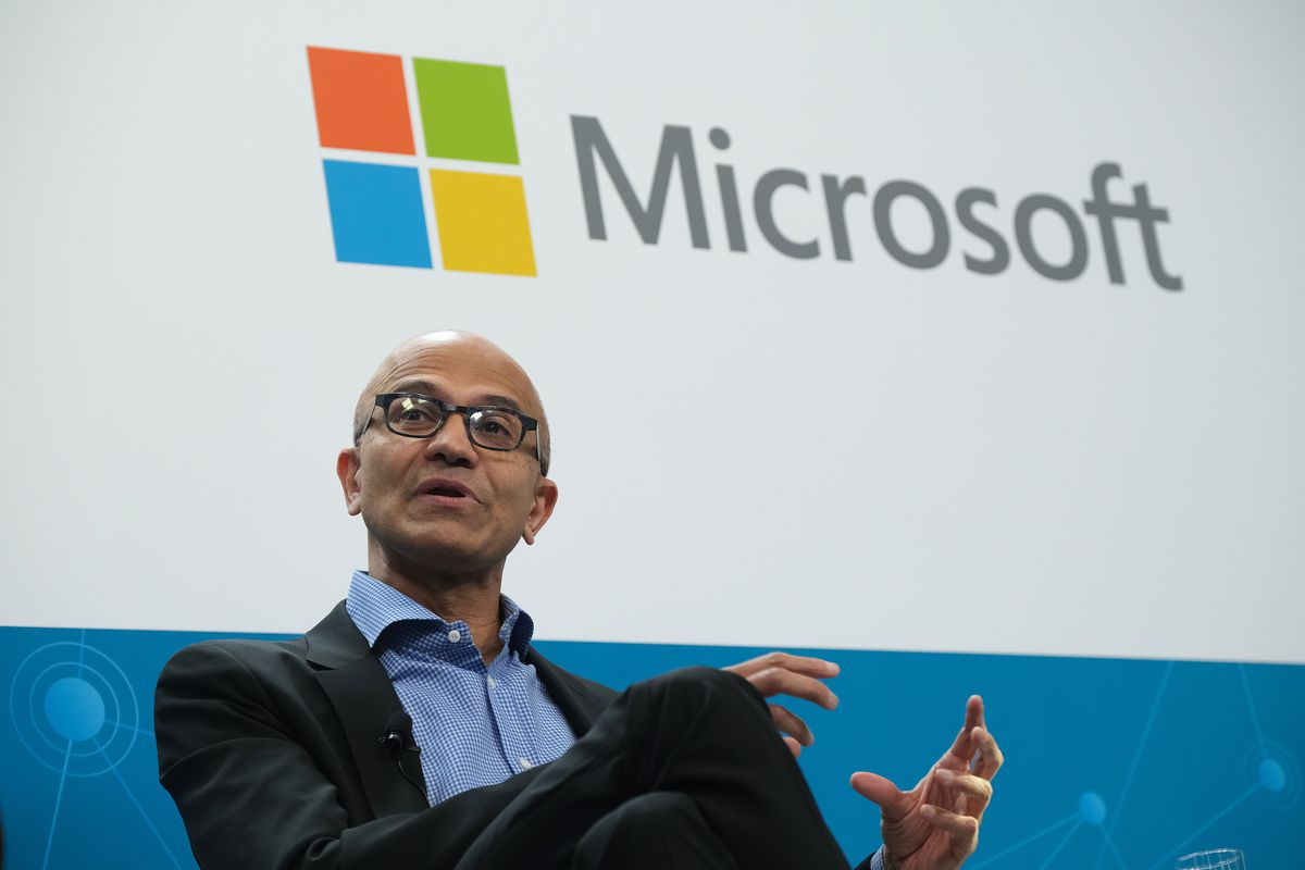 """Volkswagen And Microsoft CEOs Hold """"Fireside Chat"""""""
