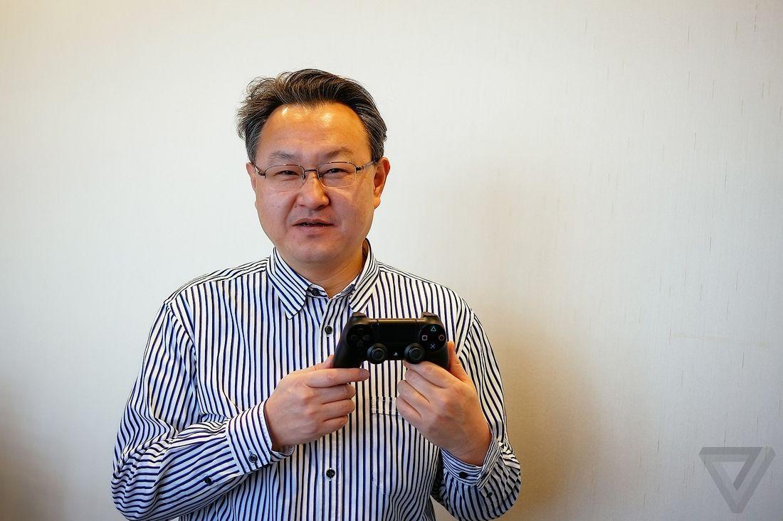 shuhei yoshida ps4 playstation