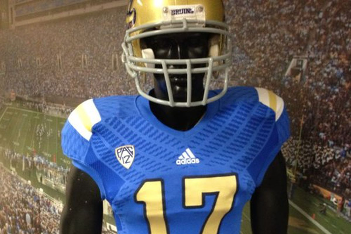 f4b7dbf33 Another Adidas second-rate UCLA football uniform. Thank Chianti Dan for  re-signing with these guys.  UCLA CB74   Twitter