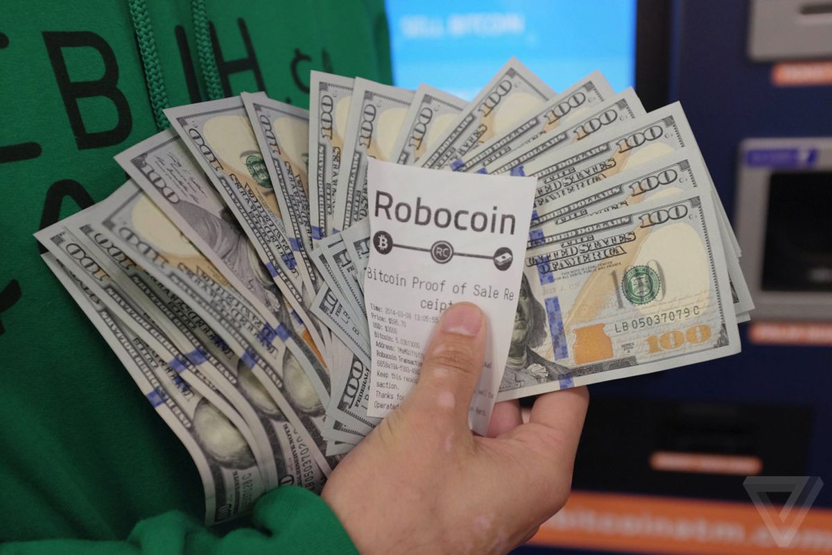 can bitcoin be cashed out for dollars