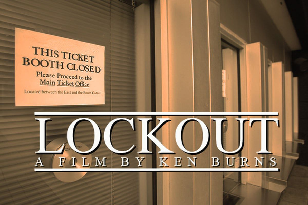 This Fall on PBS, Ken Burns' <em>Lockout</em> takes a long, detailed look at work stoppages in sports. Seriously, it's going to be really long. (The film, that is. We don't know about the lockout.)