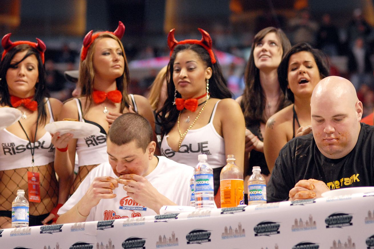 BFTB Staff Wing Eating Competition