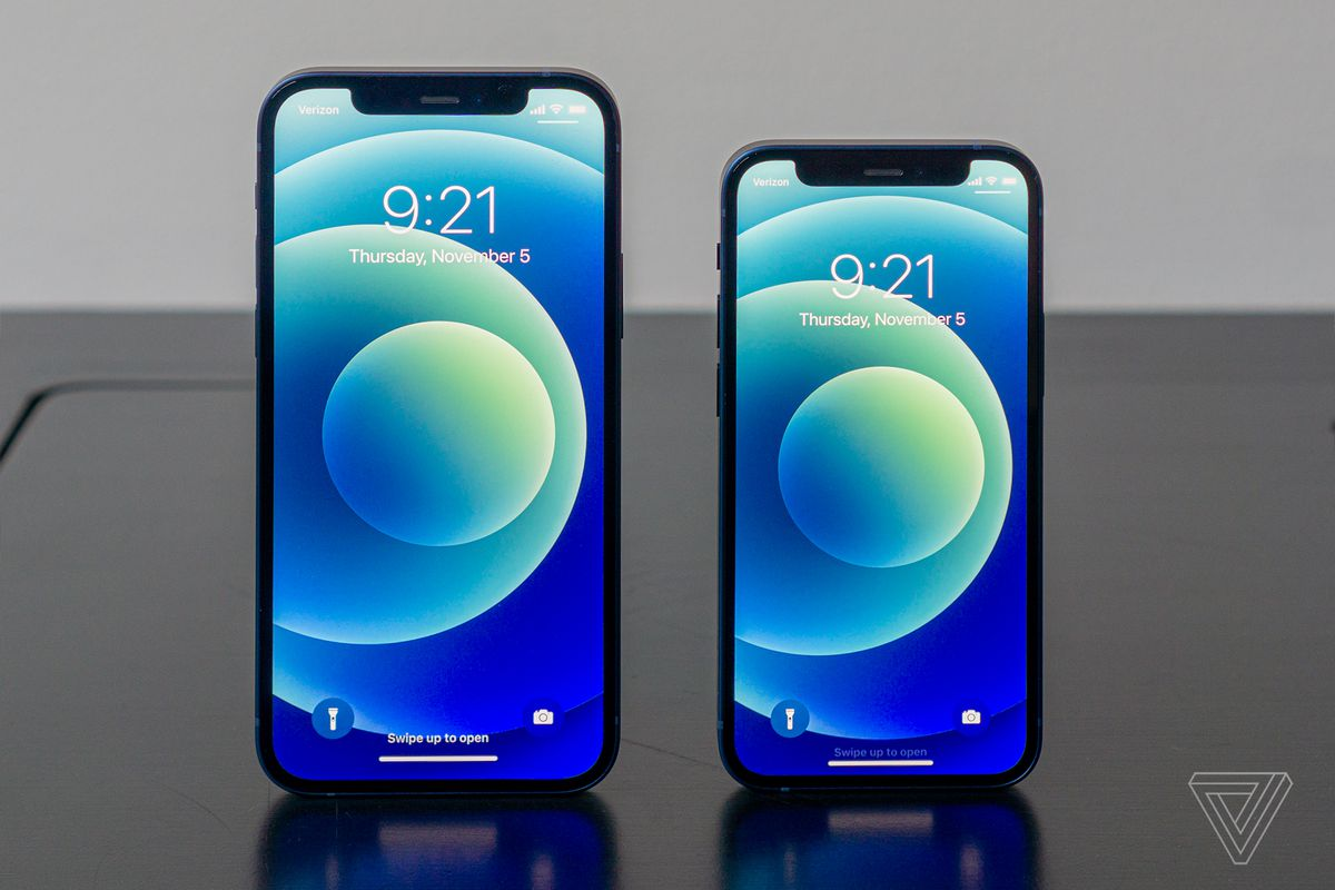 Dimensionamiento del iPhone 12 mini y 12 Pro Max