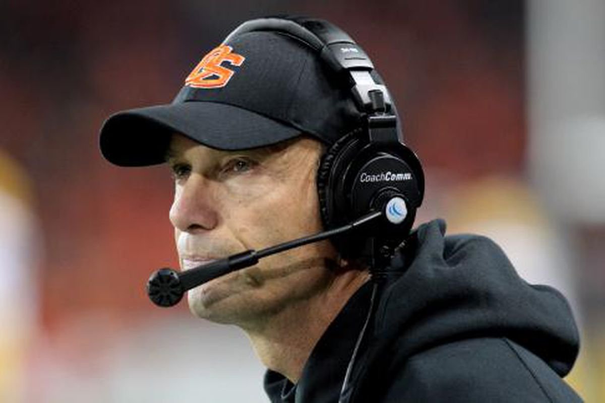 Oregon St. coach Mike Riley is happy to have both Sean Mannion and Cody Vaz.