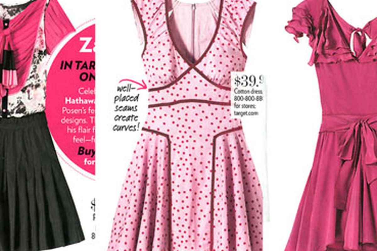"""Please, please, please let these dresses be as cute in real life as they look in these photos. Image via <a href=""""http://www.nitrolicious.com/blog/2010/03/22/zac-posen-for-target-people-stylewatch-magazine/"""">Nitrolicious</a>"""
