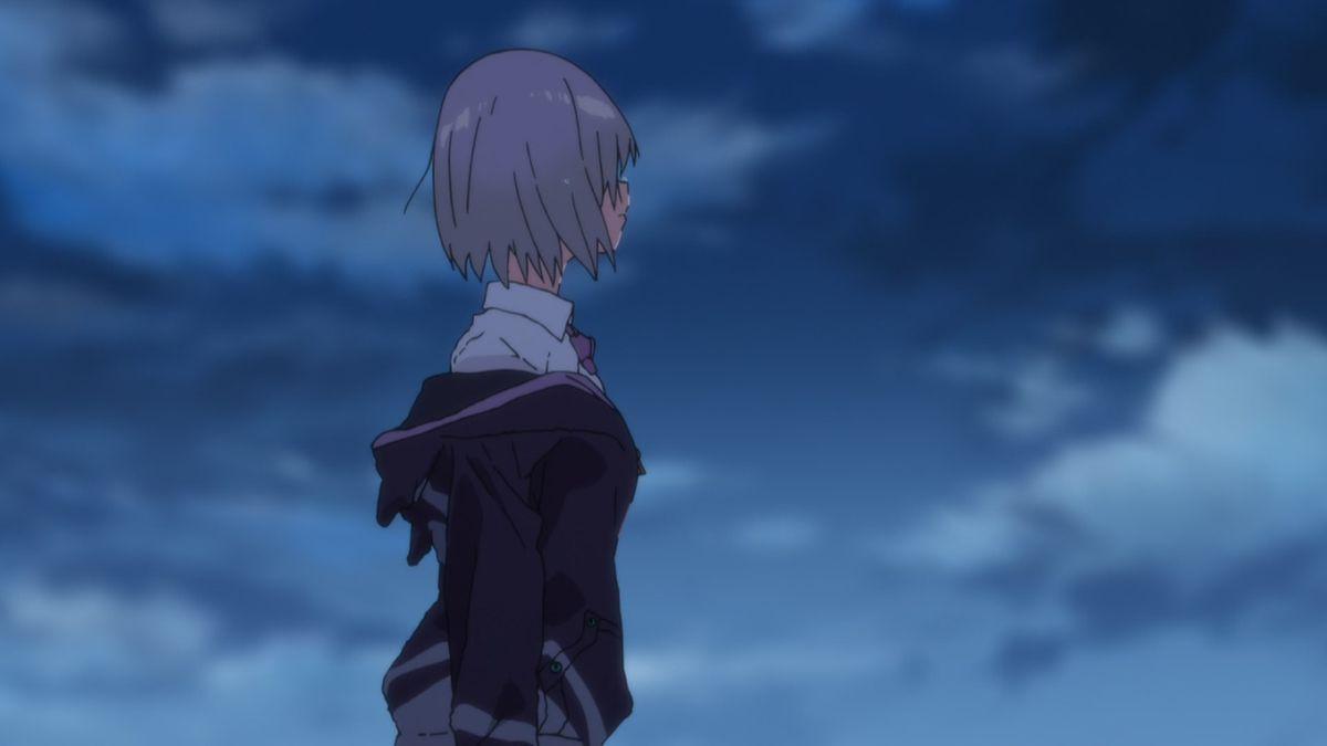 akane in ssss.gridman anime