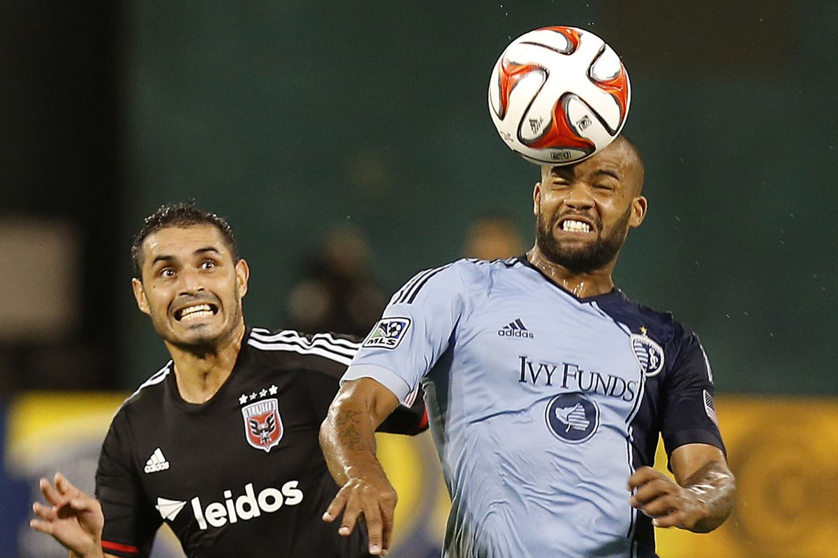 SKC's Kevin Ellis filled in for Collin and helped earn the shutout