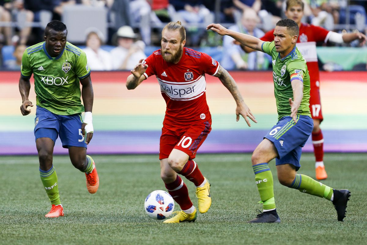 Seattle Sounders Chicago Fire