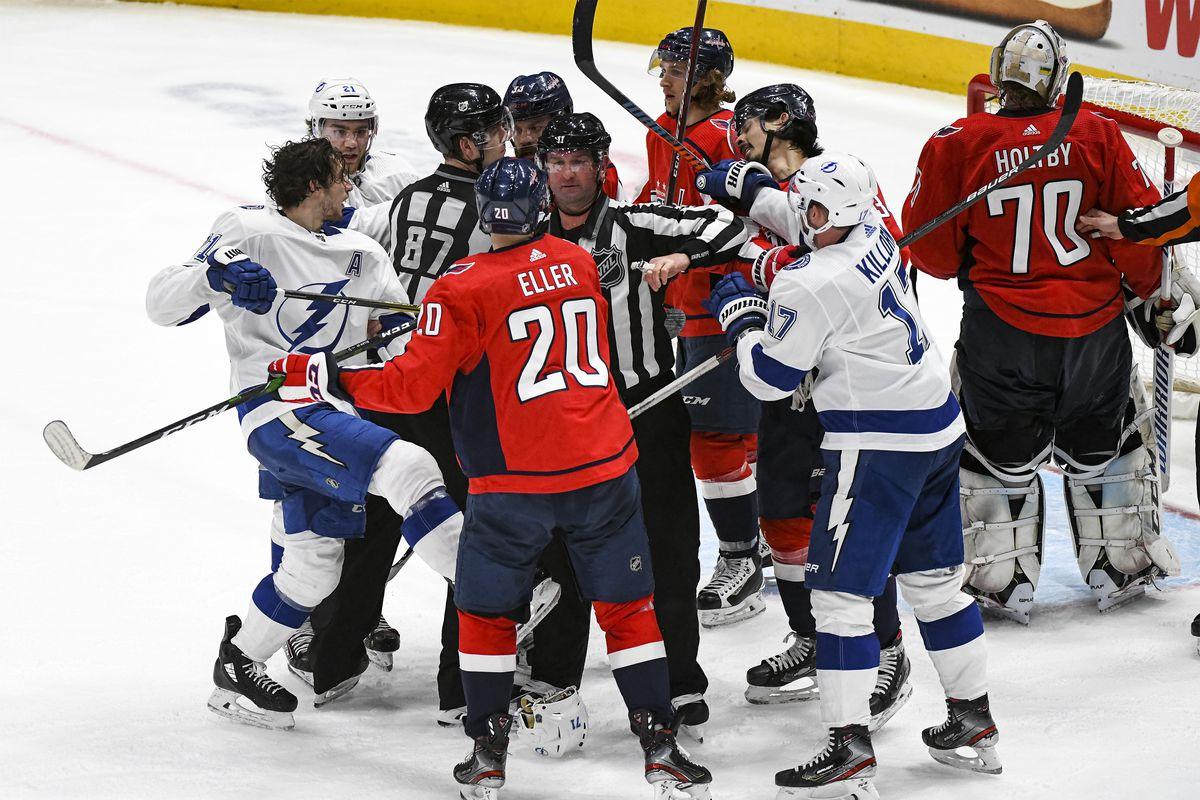 NHL: DEC 21 Lightning at Capitals