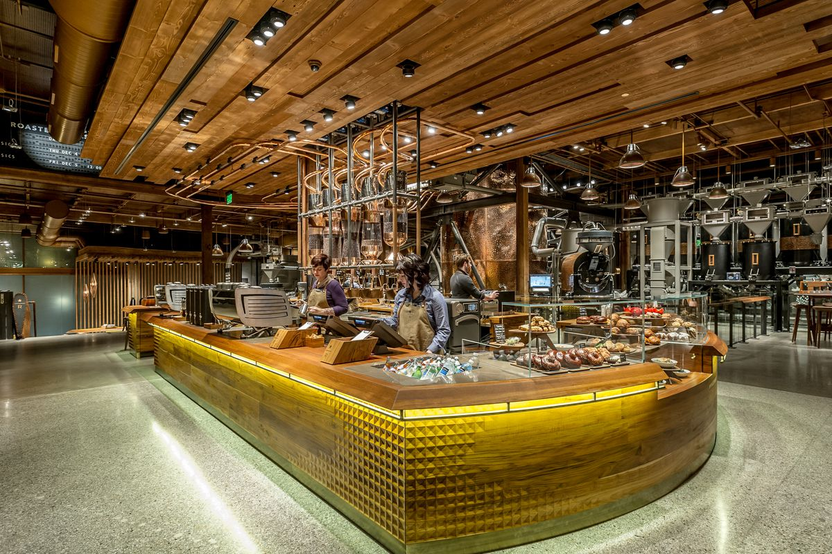 Starbucks Is Opening A Giant Roastery In China Eater